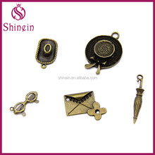Wholesale travel trip tour metal charms for decoration