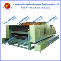 non woven cotton waste double cylinder double doffer carding machine