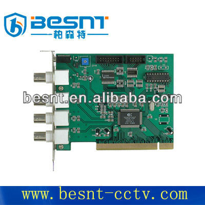 Hot sale Professional Newly Stand-alone High Focus 4CH Digital DVR card BS-D104
