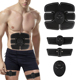 Gymnic Belt Massager Pad Abdominal Muscle Exerciser