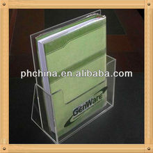 An-c636 European Design Factory Hot Sell Clear Furniture Book Rack Design/Library Book Rack/Plastic Book Racks