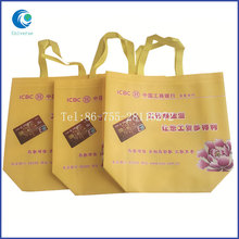 New design pp woven shopping tote bag for export sale