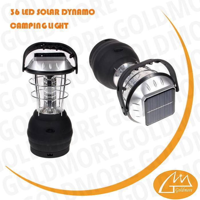 36 led soalr camping light, hand crank solar light, rechargeable solar camping lantern
