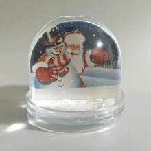 best Christmas gift photo snow globe with picture insert snow ball