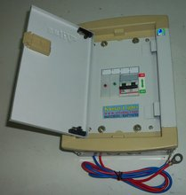 Kumar Light 10Amps charge controller with Legrand MCB