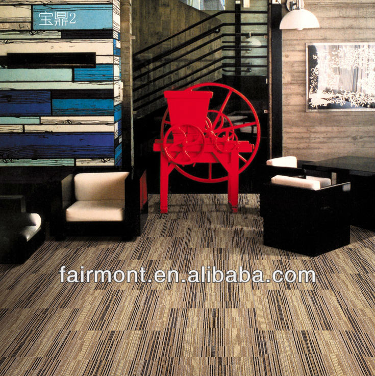 Hot Melt Carpet Tile 001