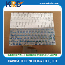 Factory direct Laptop Keyboard for MSI X300 X320 X400 X410 White IT layout