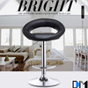 Hot sale made in China beautiful round seat Living room chair with footrest