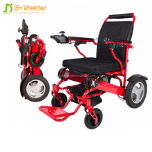 Lightweight Foldable Aluminium Power Electric Wheelchair for disabled