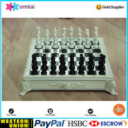best selling products resin magnetic chess pieces craft gift