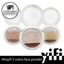 Distributor!2 colors cosmetic pressed face powder pearl powder eyeshadow