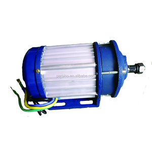 gear rate 1: 5.3 three phase Alu material 2000 watt brushless dc motor
