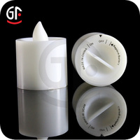 Alibaba French Decoration Light Paraffin Wax Led Candle Light