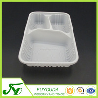 PP customized plastic blister takeaway food packaging container