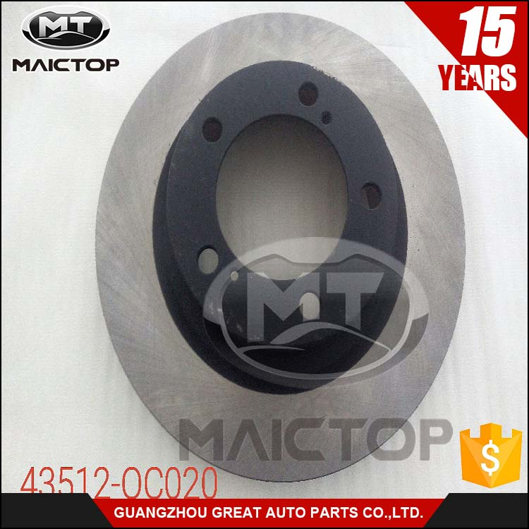 OEM:43512-0C020 High performance floating brake disc for TOYOTA Sequoia/Tundra