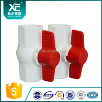Butterfly Handle Octagonal PVC Ball Valve Female/ Male Thread/Octagonal Ball Valve which is Made in China
