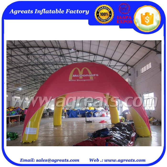 Huge outdoor PVC inflatable tent inflatable shelter,outdoor activity inflatable tent on selling S1005