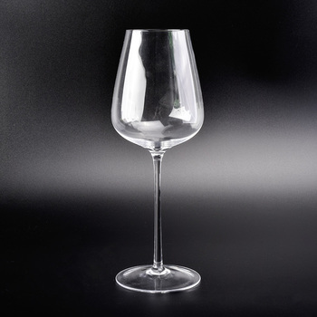 High quality handmade red wine glasses