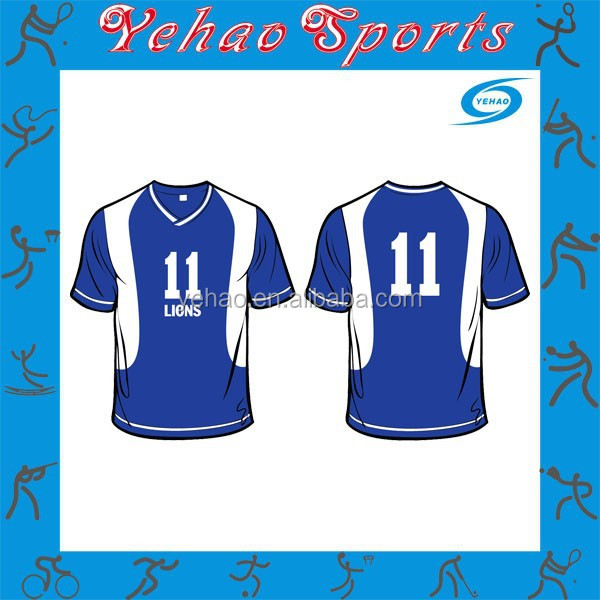 High quality sublimation Series Soccer Jersey
