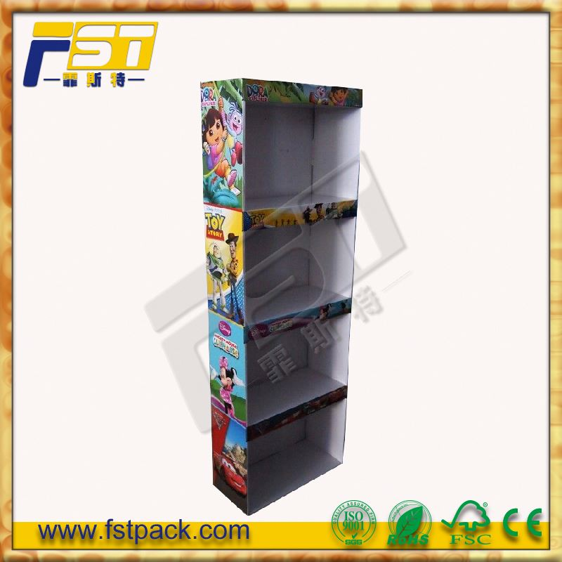 Branded new design leather belt display stand