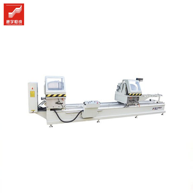 Double head saw upvc window CNC welding machine 600 <strong>x</strong> <strong>1200</strong> 4 corner machinery Best price of China manufacturer