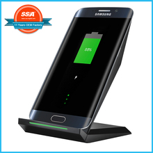 Wireless Charger Qi 3-Coil Charging Pad Stand for Galaxy S7 for Galaxy S7 edge for Galaxy S6 for Note 5 for S6 Edge+,for S6 Edge
