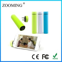 ZS-35 Mobile Phone Holder 4000mAh Speaker Power Bank with LED Indicator