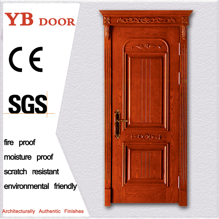 45 mm thickness wooden door alibaba china market 2017 new design solid wood door for USA market