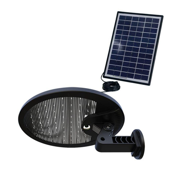 Super Bright PIR Motion Sensor Outdoot Solar Power LED Lights with External Solar Panels