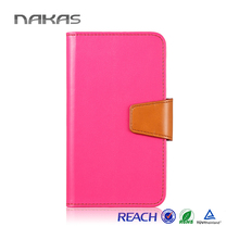 Free sample top sale detachable wallet leather case for iphone 5