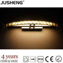 10w crystal Classical European Indoor LED bathroom mirror wall light lamp lighting lights CE & RoHS 100-240V AC