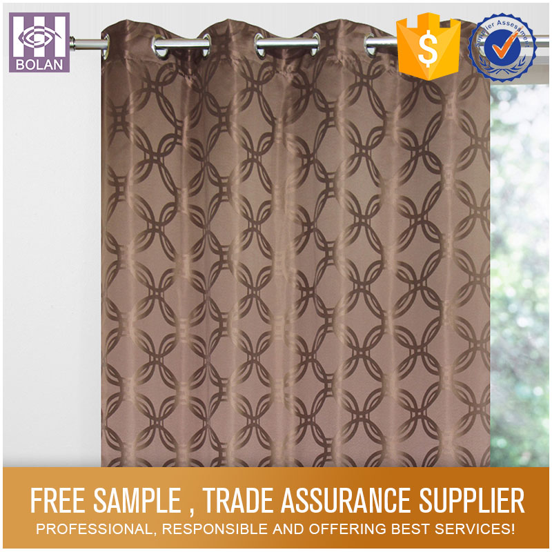 Modern House Design Supplier blackout curtains window panel drapes
