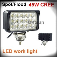 super bright 45w 6'' cree husky led work light AAL-0670