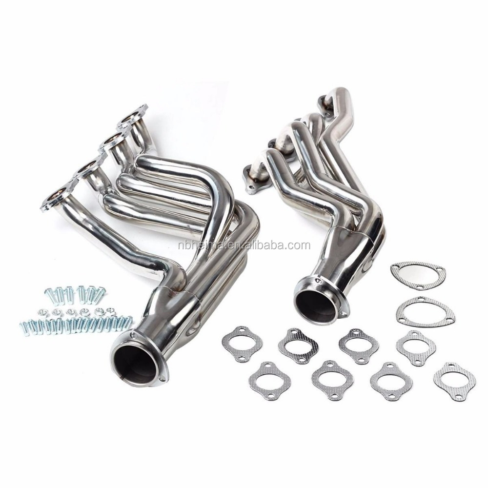 Fit For BBC Chevy 396 427 Chevelle Camaro 68-72 Heavy Duty Headers Silver coated