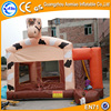 inflatable Horse jumper PVC Inflatable bouncer rentals Inflatable castle slide for kids