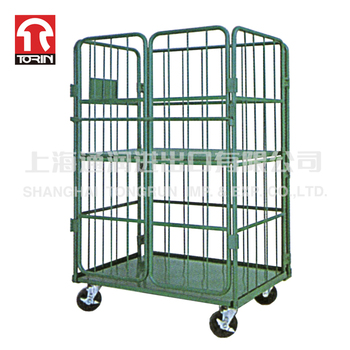 Torin SWK1022 ISO Certificated Durable Folding Metal steel Logistic wire mesh Roll Container