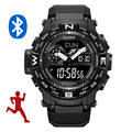 Automatic time bluetooth watch for android phone running watches