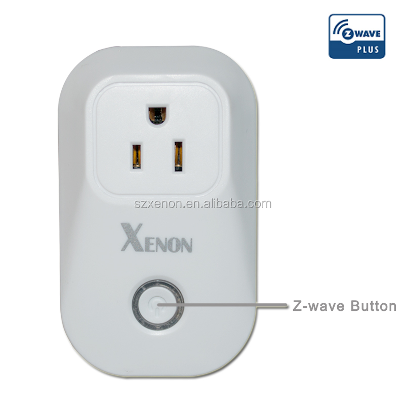 Z-wave Smart plug with socket enclosure female plug socket 868.42MHz 908.42MHZ power socket