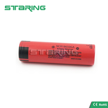 Updated Sanyo NCR18650 GA 3500mah 18650 Sanyo NCR18650GA 3.7V 18650 li ion batteries