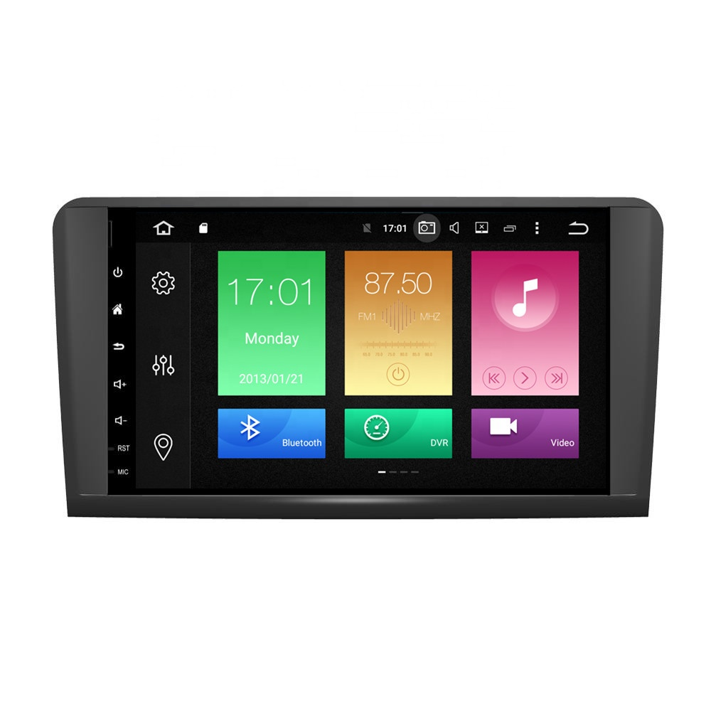 9 inch 2din Android 9.0 car <strong>dvd</strong> player for Mercedes-Benz ML350 <strong>W164</strong> Octa core <strong>GPS</strong> Navigation Car radio multimedia stereo Wifi BT