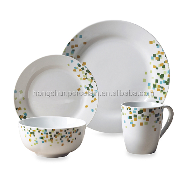 hotel elegance tableware,dinnerware sets clay tableware,decorative tableware