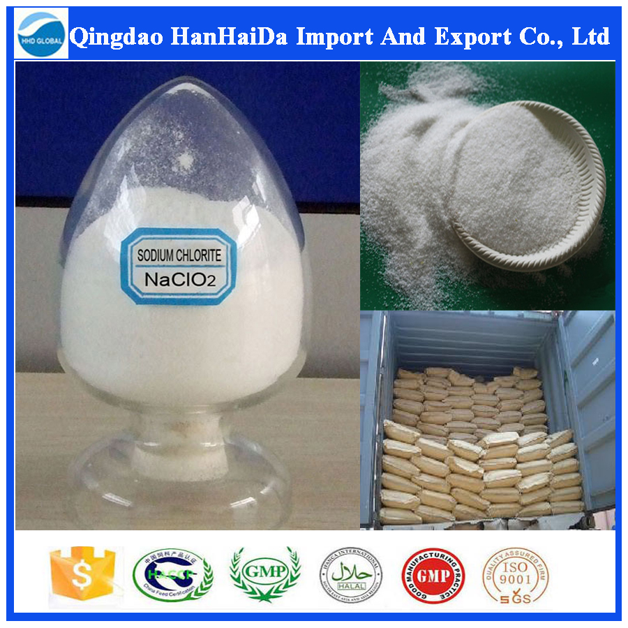 Top quality sodium chlorite / NaClO2 / CAS no 7758-19-2 with reasonable price on hot selling!!