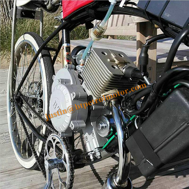 gas powered 80cc engine kit chopper bike 2 stroke bicycle engine kit