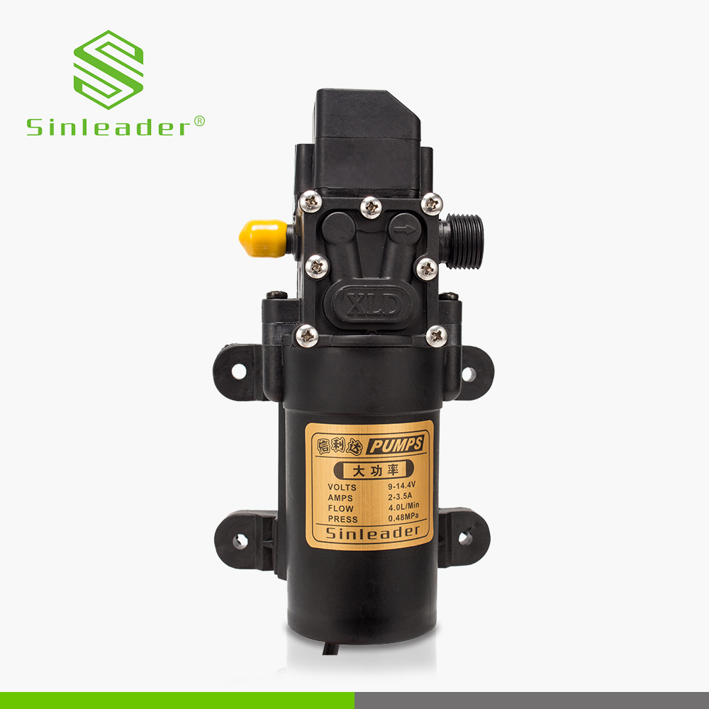 China competitive price electric agricultural small miniature 12V 24V 48V dc car washing water pumps diaphragm pump