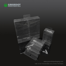 Transparent PVC Box Clear Plastic Tool Packaging Box with foam