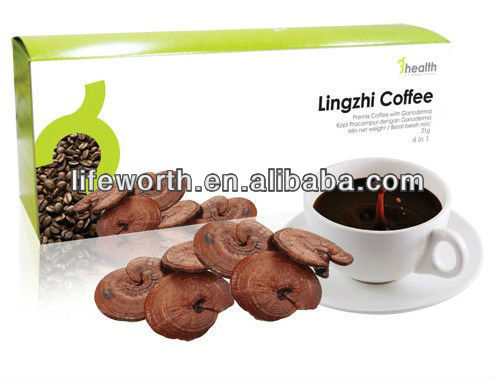 Gold Lingzhi spore instant coffee wholesale price