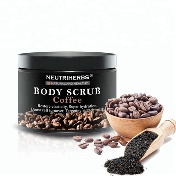 100% Natural Arabic Coffee Body Scrub Magic Slimming Coffee Whitening Exfoliating Scrub