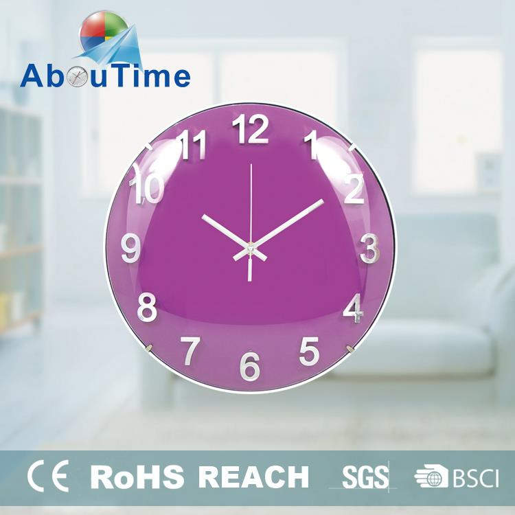 Teapot electronic projection wall clock for promotion