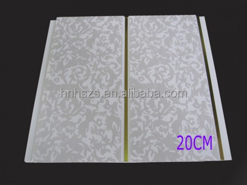 Artistic pvc building material PVC ceiling panels made in zhejiang
