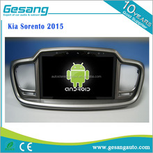 2017 Best Selling Android 6.0 car dvd player for Kia Sorento 2015 GPS Navigation with igo Map BT DVR IPOD 1080P